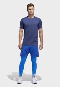 adidas Performance - TECH HEAT.RDY ZIGZAG LONG TIGHTS - Trikoot - blue - 1
