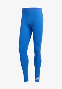 adidas Performance - TECH HEAT.RDY ZIGZAG LONG TIGHTS - Trikoot - blue - 10
