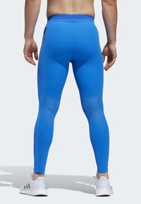 adidas Performance - TECH HEAT.RDY ZIGZAG LONG TIGHTS - Trikoot - blue - 2