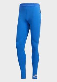 adidas Performance - TECH HEAT.RDY ZIGZAG LONG TIGHTS - Trikoot - blue - 11