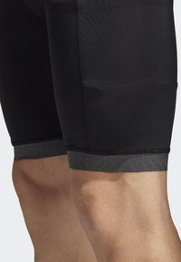 adidas Performance - SUPERNOVA BIB SHORT - Tights - black - 4