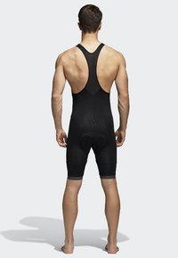 adidas Performance - SUPERNOVA BIB SHORT - Tights - black - 1