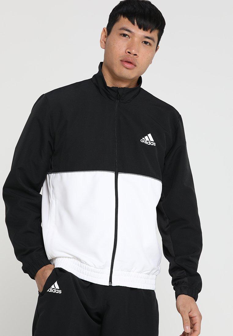 adidas Performance - CLUB  - Tracksuit - black/white