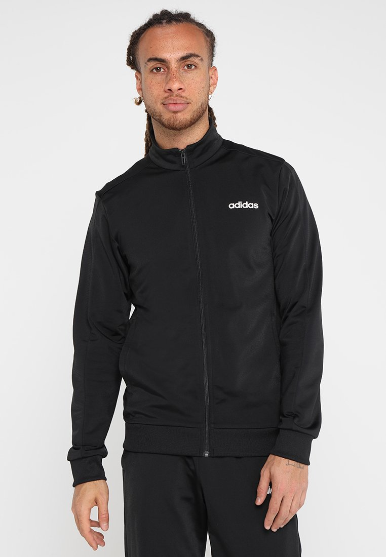 adidas Performance - BASICS - Trainingspak - black/black