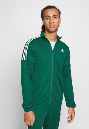 ATHLETICS TEAM SPORTS TRACKSUIT - Verryttelypuku - green/white