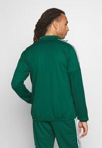 adidas Performance - ATHLETICS TEAM SPORTS TRACKSUIT - Tracksuit - green/white - 2