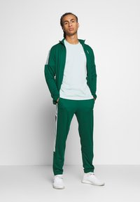 adidas Performance - ATHLETICS TEAM SPORTS TRACKSUIT - Tracksuit - green/white - 6