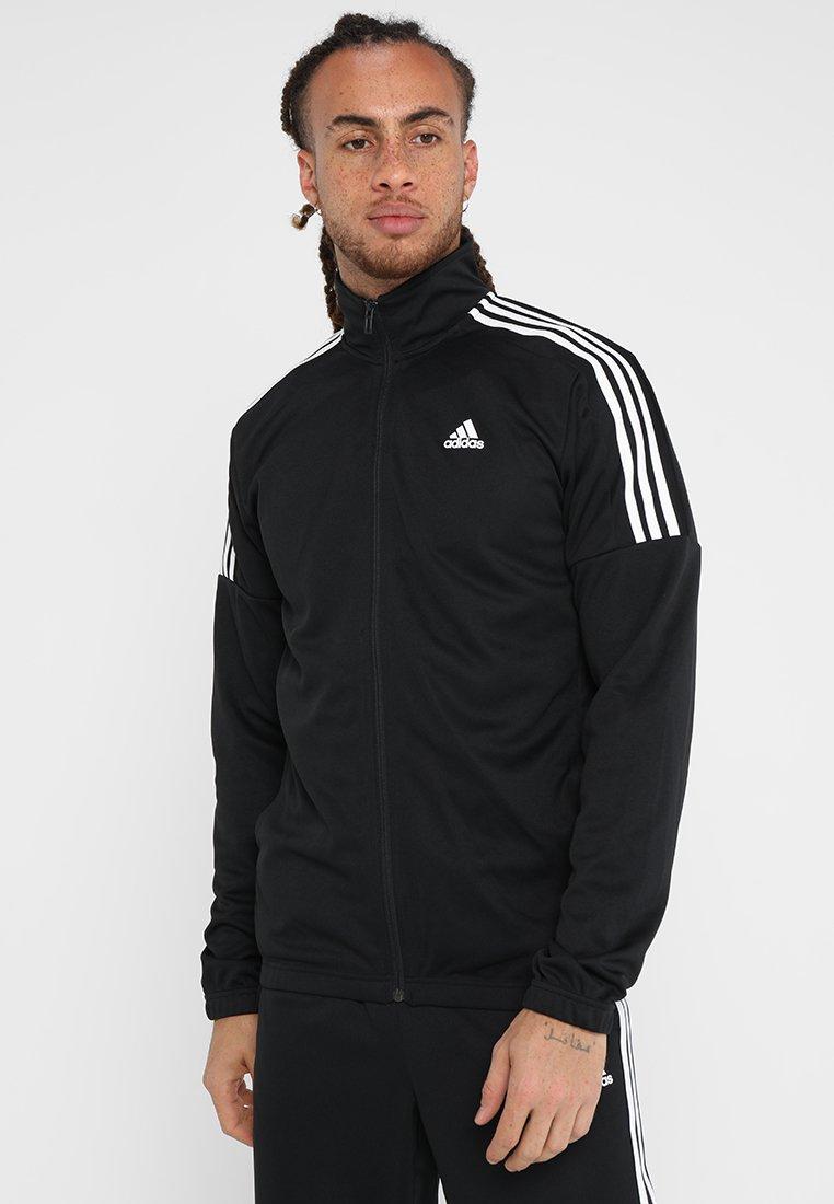 adidas Performance - TEAM SET - Træningssæt - black/white