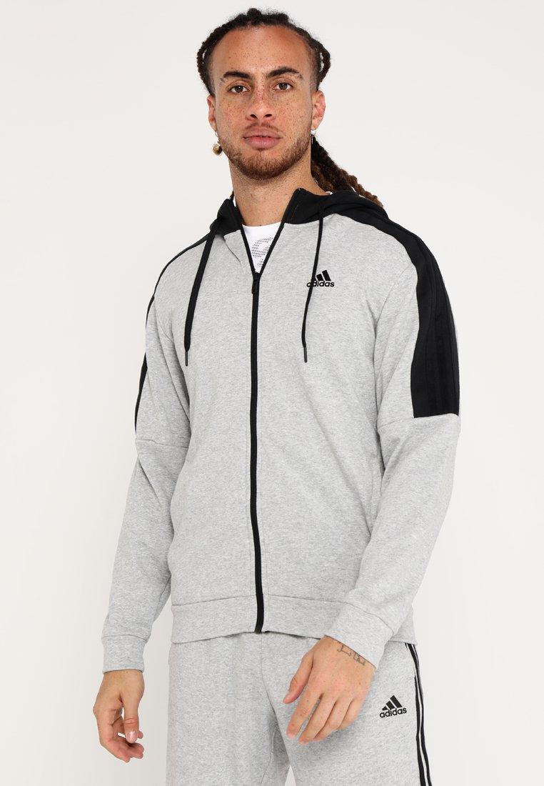 adidas Performance - ENERGIZE SET - Trainingspak - medium grey heather/black