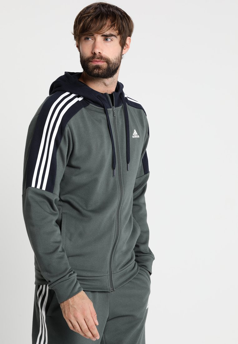 adidas Performance - ENERGIZE SET - Trainingspak - legend ivy/legend ink/white