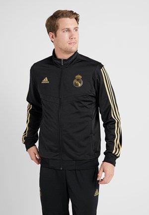 REAL MADRID PES SUIT - Klubové oblečení - black/gold