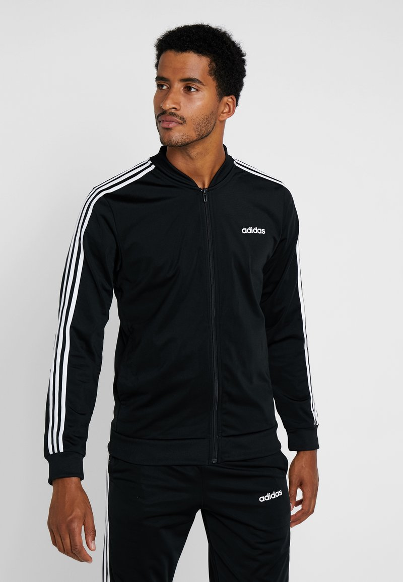 adidas Performance - Trainingsanzug - black/white