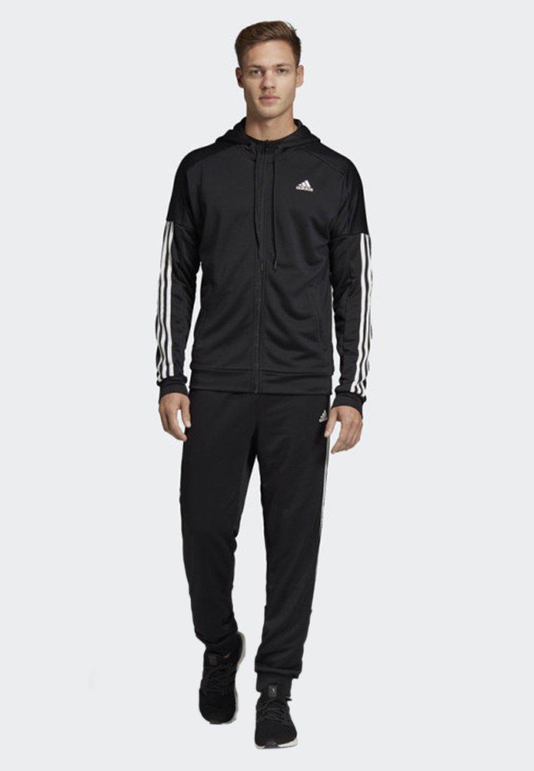 adidas Performance - GAME TIME TRACKSUIT - Verryttelypuku - black