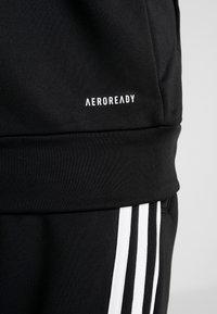 adidas Performance - 3STRIPES AEROREADY ATHLETICS SPORT TRACKSUIT - Survêtement - black/white - 10