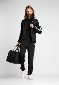 adidas Performance - 3STRIPES AEROREADY ATHLETICS SPORT TRACKSUIT - Survêtement - black/white - 1