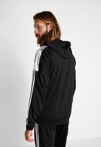 adidas Performance - 3STRIPES AEROREADY ATHLETICS SPORT TRACKSUIT - Survêtement - black/white - 2