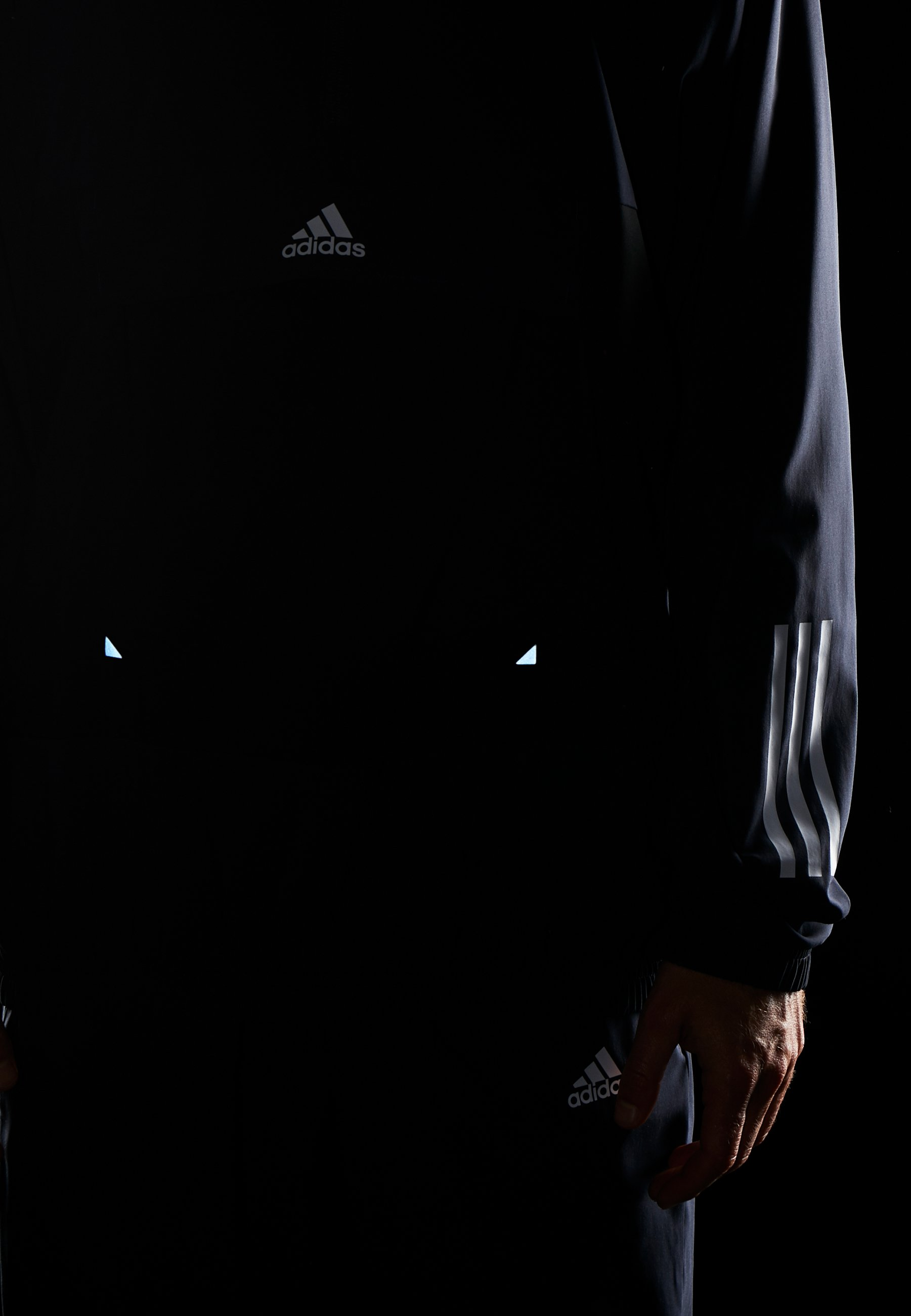 adidas Performance TECH - Trainingsanzug - legend ink/white