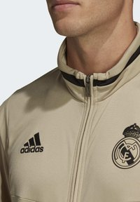 adidas Performance - REAL MADRID SUIT - Pantalon classique - gold - 4