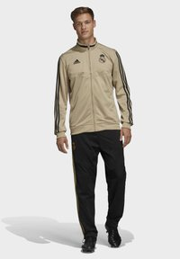 adidas Performance - REAL MADRID SUIT - Pantalon classique - gold - 0