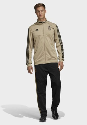 REAL MADRID SUIT - Stoffhose - gold