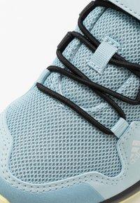 adidas Performance - TERREX AX2R COMFORT - Hiking shoes - ash grey/core black/yellow tint - 2