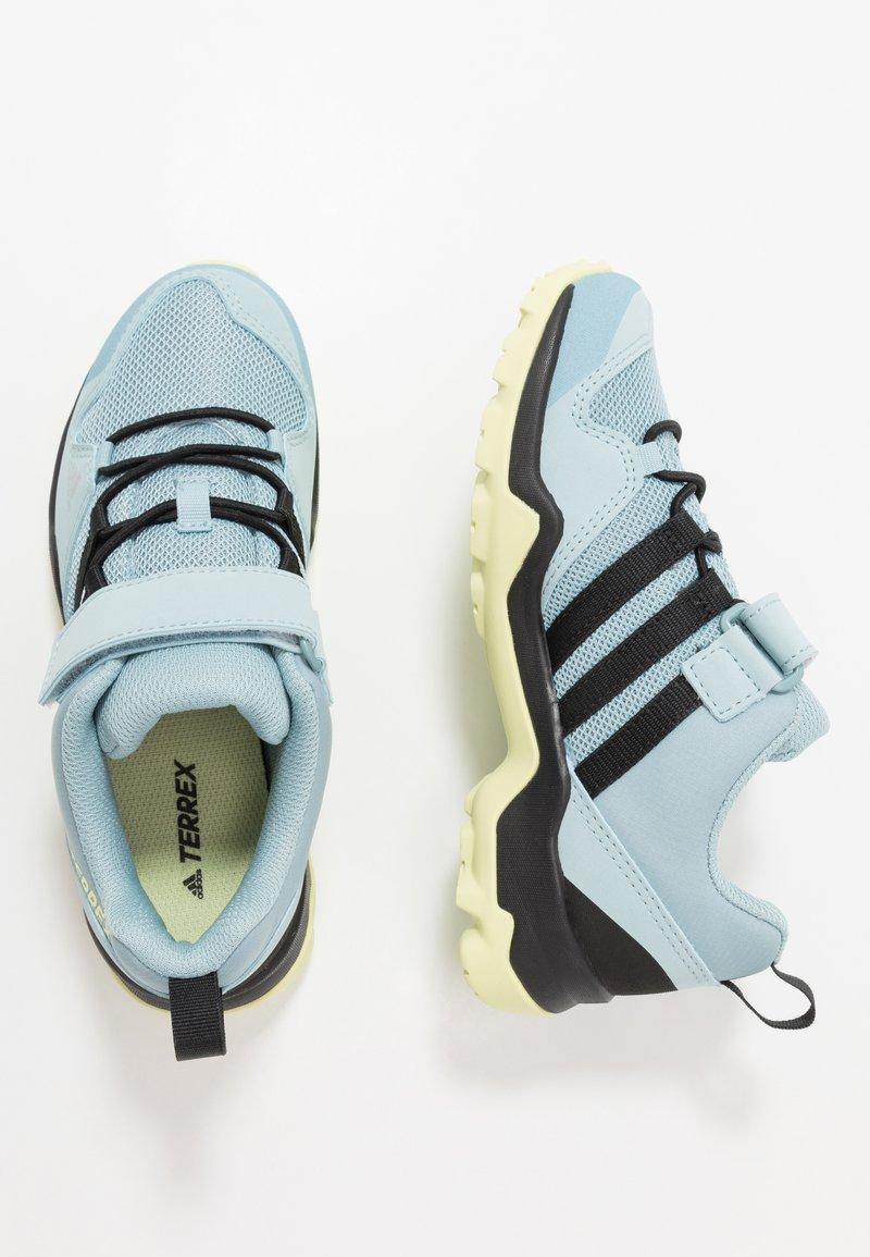 adidas Performance - TERREX AX2R COMFORT - Hiking shoes - ash grey/core black/yellow tint