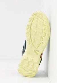 adidas Performance - TERREX AX2R COMFORT - Hiking shoes - ash grey/core black/yellow tint - 5