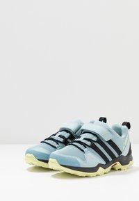 adidas Performance - TERREX AX2R COMFORT - Hiking shoes - ash grey/core black/yellow tint - 3