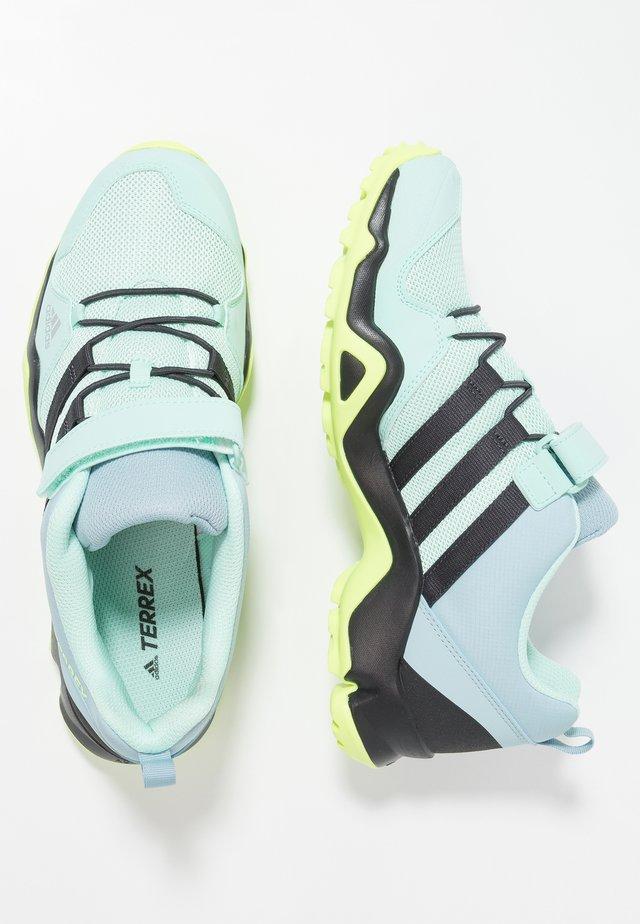 TERREX AX2R COMFORT - Hiking shoes - clear mint/carbon/hi-res yellow
