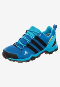adidas Performance - TERREX AX2R RAIN.RDY - Outdoorschoenen - blue beauty/core black/shock yellow - 5