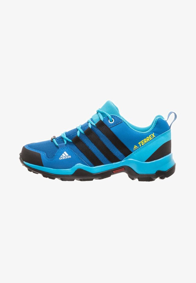 TERREX AX2R RAIN.RDY - Hiking shoes - blue beauty/core black/shock yellow