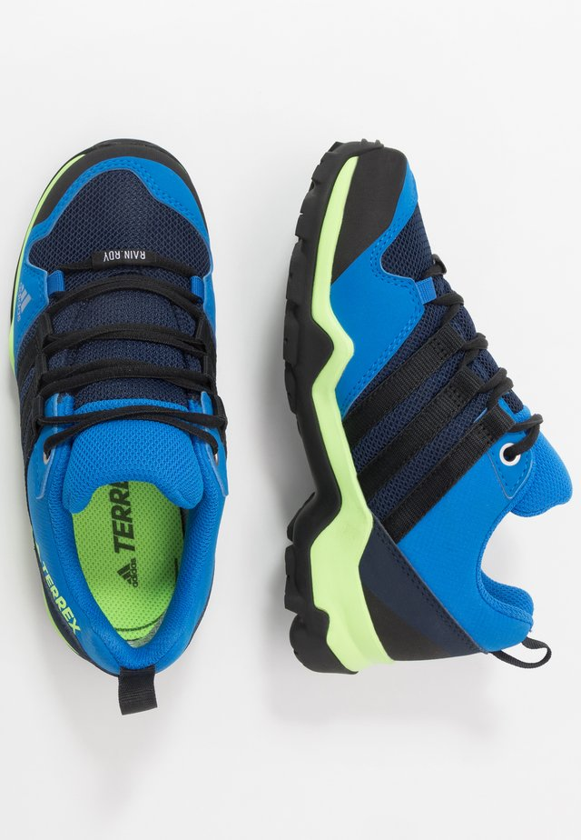 TERREX AX2R RAIN.RDY - Hiking shoes - tech indigo/core black/glow blue