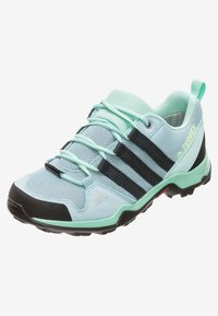 adidas Performance - TERREX AX2R CP - Obuwie hikingowe - ash grey/carbon/clear mint - 5