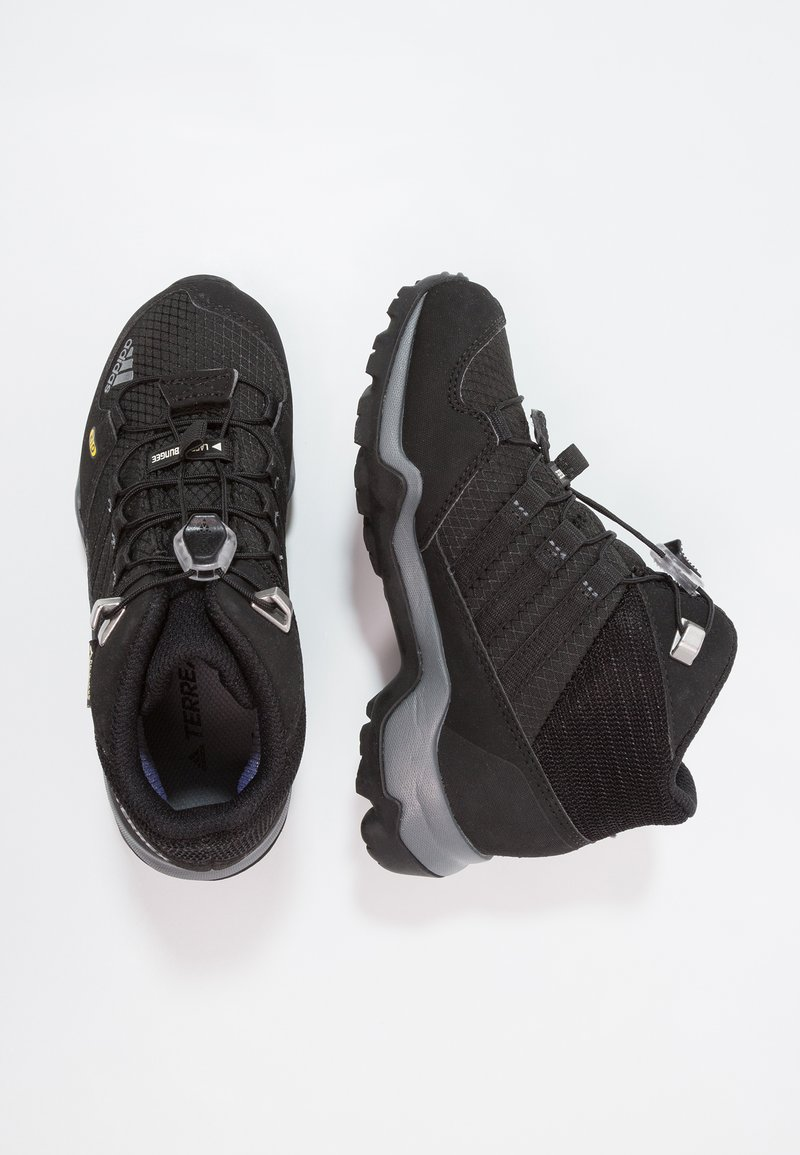 adidas Performance - TERREX MID GTX - Hiking shoes - core black/vista grey