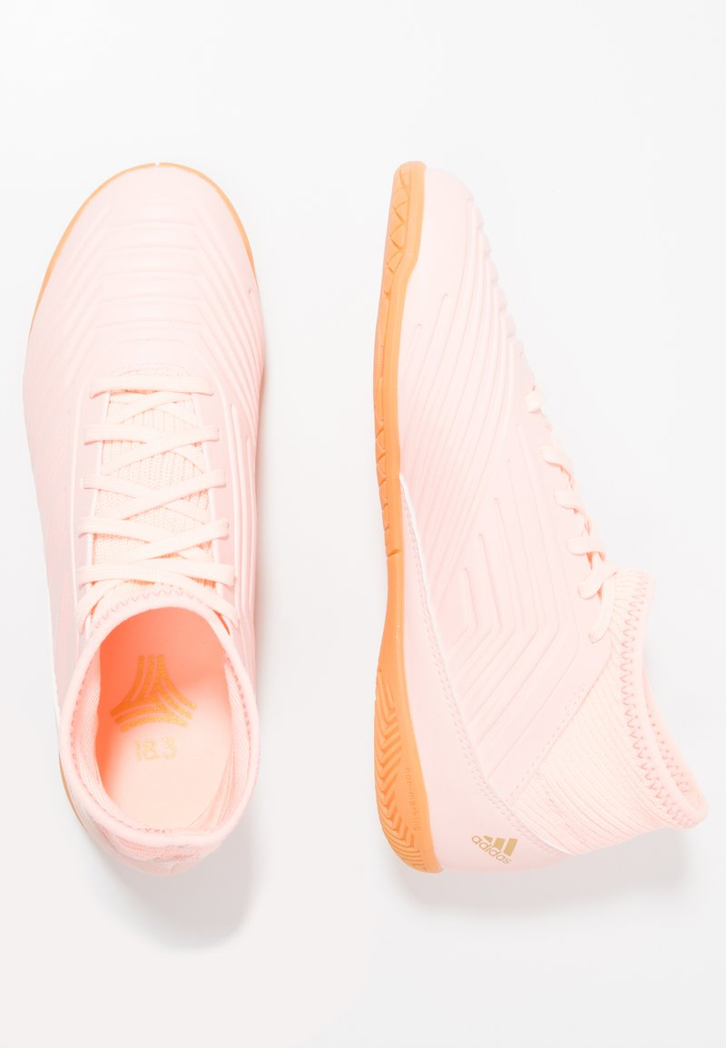 adidas Performance - PREDATOR TANGO 18.3 IN - Zaalvoetbalschoenen - clear orange/trace pink