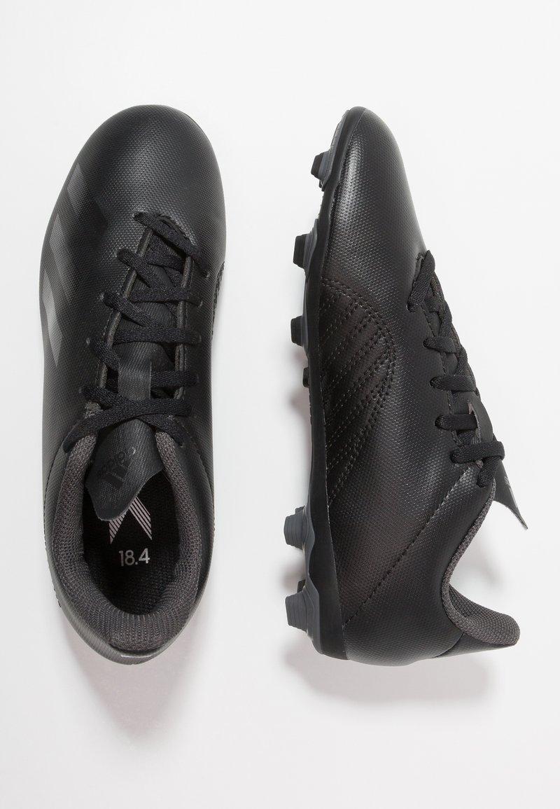 adidas Performance - X 18.4 FXG - Fußballschuh Nocken - core black/footwear white