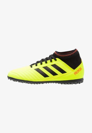PREDATOR TANGO 18.3 TF - Chaussures de foot multicrampons - solar yellow/core black/solar red
