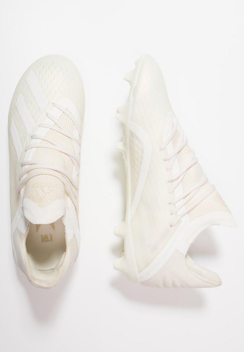 adidas Performance - Fußballschuh Nocken - offwhite/footwear white