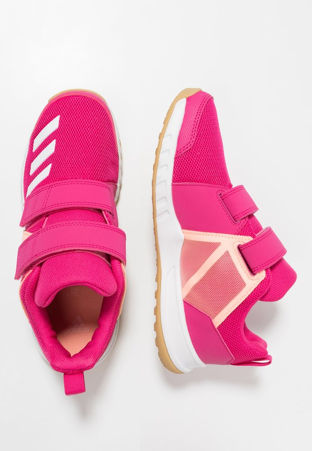 FORTA GYM SCHUH - Sports shoes - real magenta/footwear white/clear orange