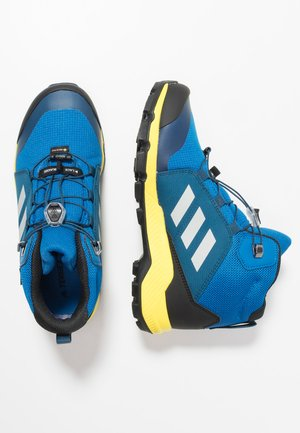 TERREX MID GTX - Outdoorschoenen -  blue beauty/grey one/shock yellow