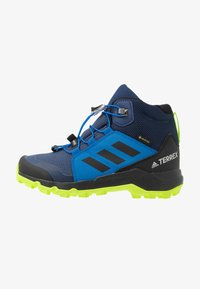 adidas Performance - TERREX MID GORE-TEX - Outdoorschoenen - tech indigo/core black/signal green - 1