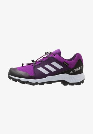 TERREX GORETEX HIKING SHOES - Hiking shoes - active purple/aero blue/true pink