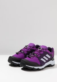 adidas Performance - TERREX GORETEX HIKING SHOES - Hiking shoes - active purple/aero blue/true pink - 3