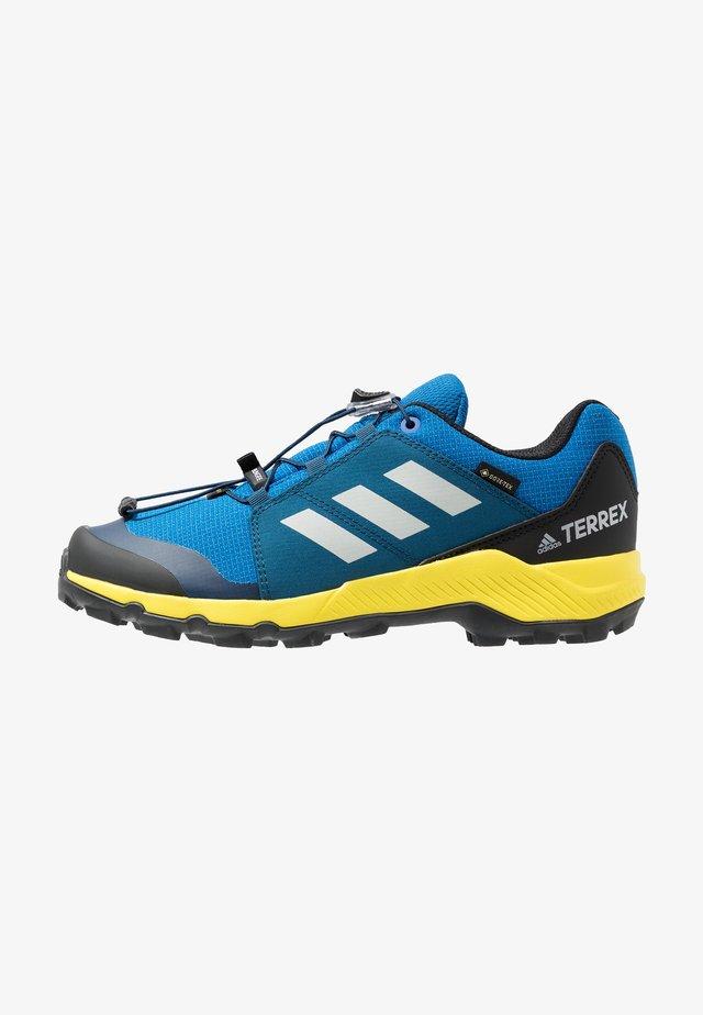 TERREX GORETEX HIKING SHOES - Hiking shoes - blue beauty/grey one/shock yellow