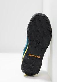adidas Performance - TERREX GTX - Scarpa da hiking - blue beauty/grey one/shock yellow - 4