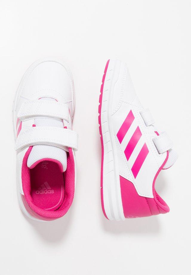 ALTASPORT CF - Gym- & träningskor - footwear white/real magenta