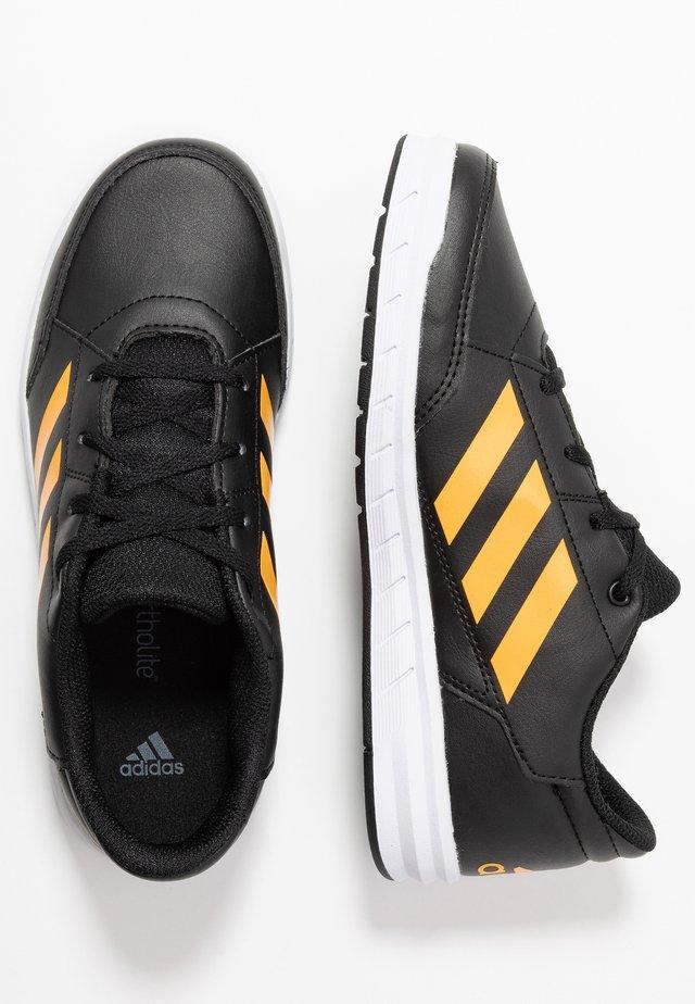 ALTASPORT - Sports shoes - core black/active gold/footwear white