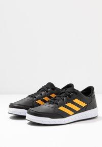 adidas Performance - ALTASPORT - Scarpe da fitness - core black/active gold/footwear white - 3