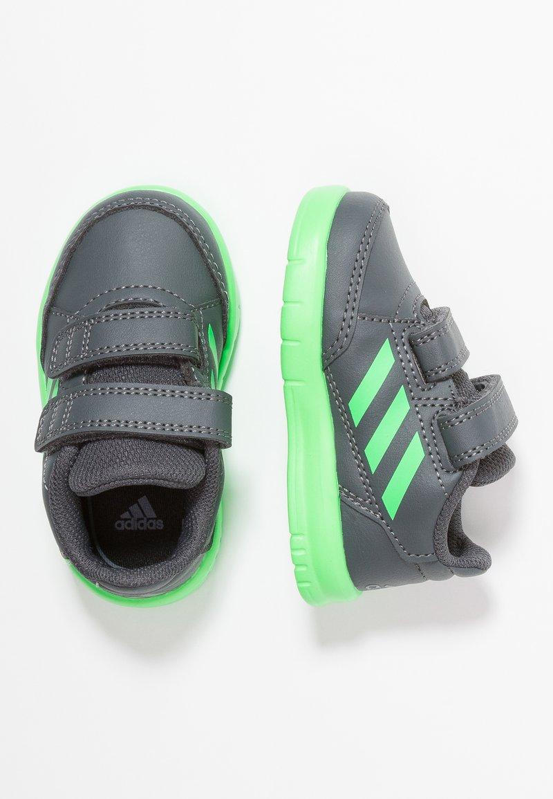adidas Performance - ALTASPORT CF - Sportschoenen - grey six/shock lime/footwear white