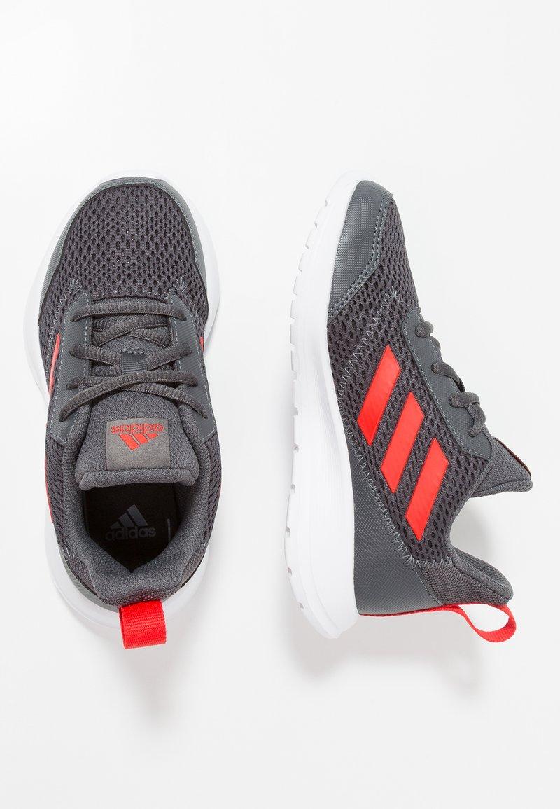 adidas Performance - ALTARUN - Zapatillas de running neutras - grey six/active red/footwear red